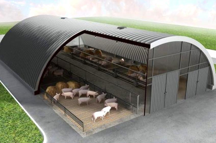 Свинарник под ключ